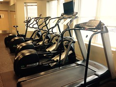 exercise machine, exercise equipment, room, gym,