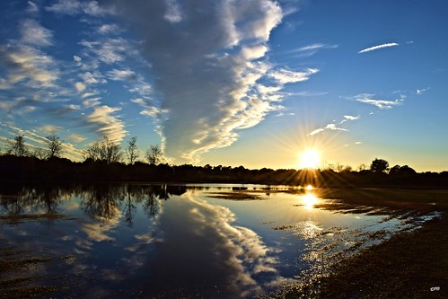 park sunset sky sun reflection fall nature water colors field rain clouds mirror nikon flooding colorful natural flood florida walk peaceful calm zen serenity hudson nikkor nikkor18200m nikond5300