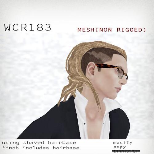 booN WCR183 hair
