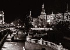 Night rhythm of Moscow