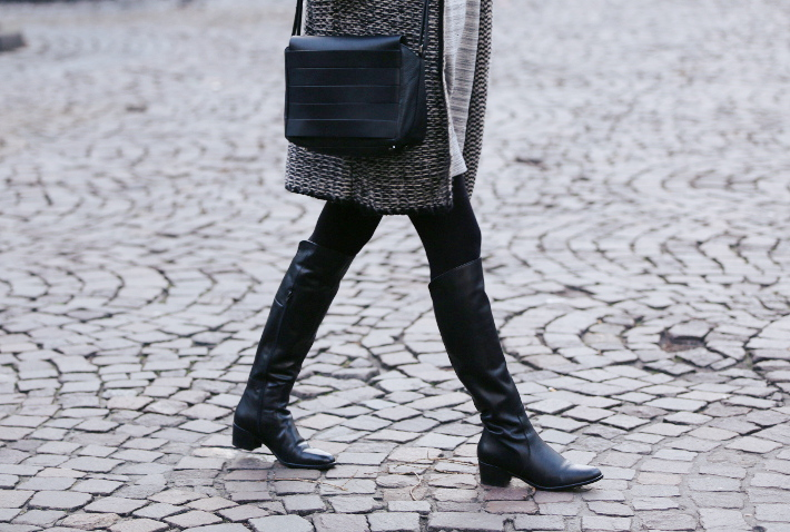 over the knee boots, and other stories handbag