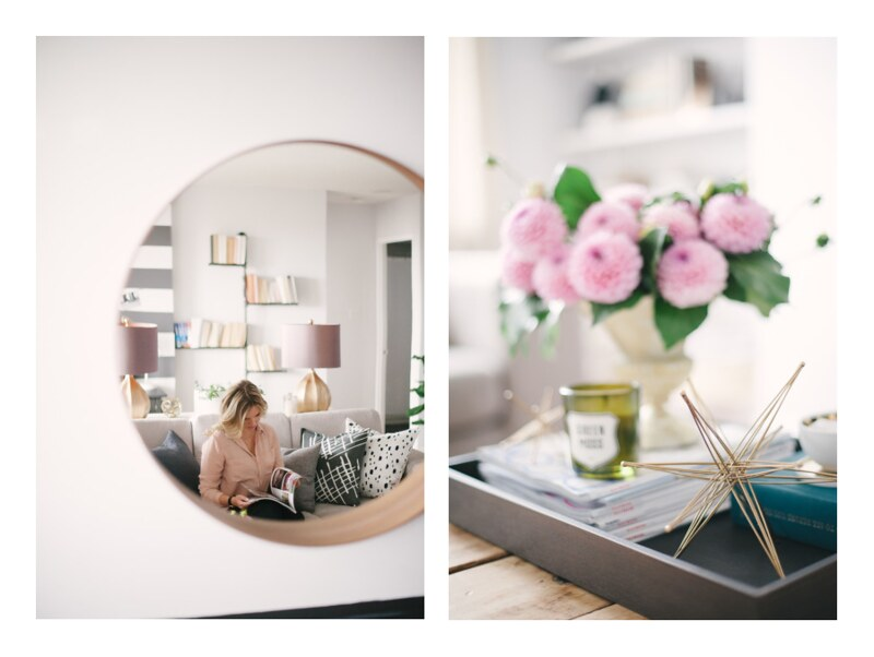 {in the office with jacquelyn clark | photos by heidi lau} via chevrons & éclairs