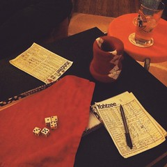 #yahtzee. #games #whisky #friday #dice #picoftheday