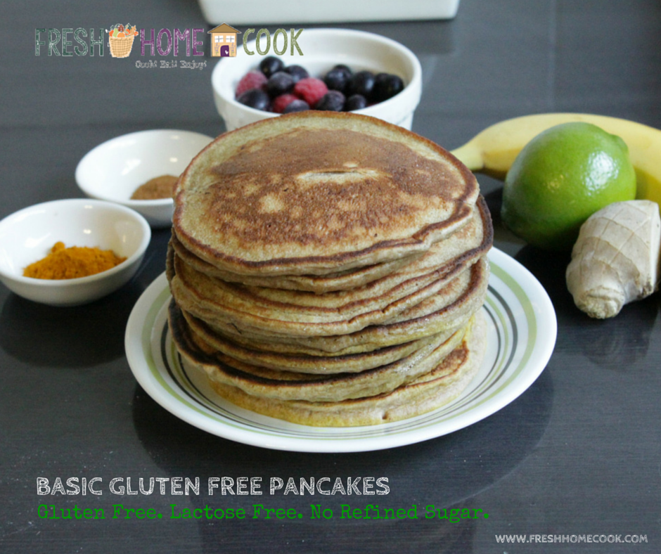 Basic Gluten Free Pancakes - Fresh Home Cook