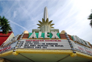 Alex Theater Marquee & Tower, Meyer & Holler 1939; S. Charles Lee, Architect 1940