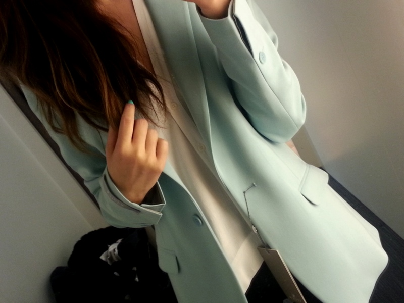 Tiger of Sweden pastel blue blazer