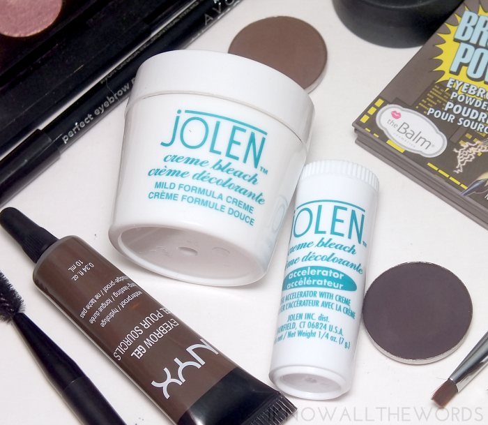 power brows- jolen cream bleach