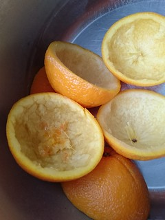 Blanched Orange Halves