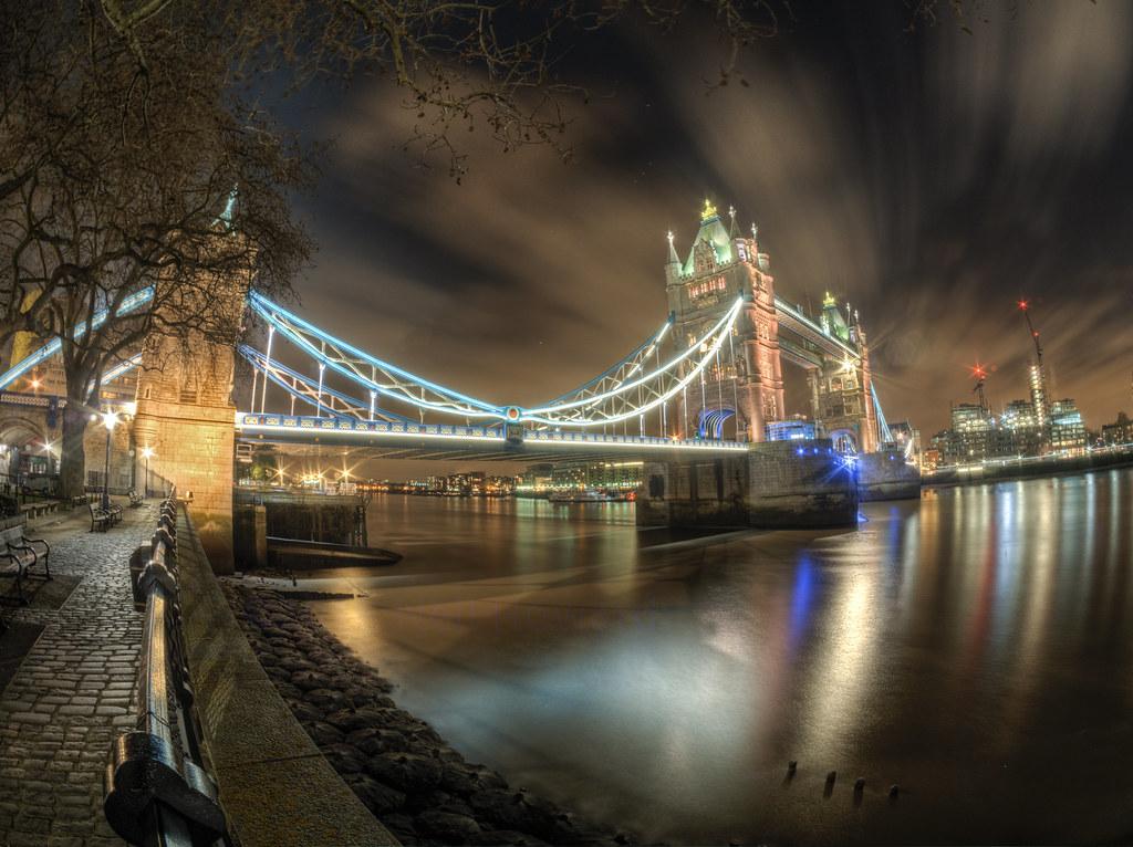Tower Bridge, Fish Eye