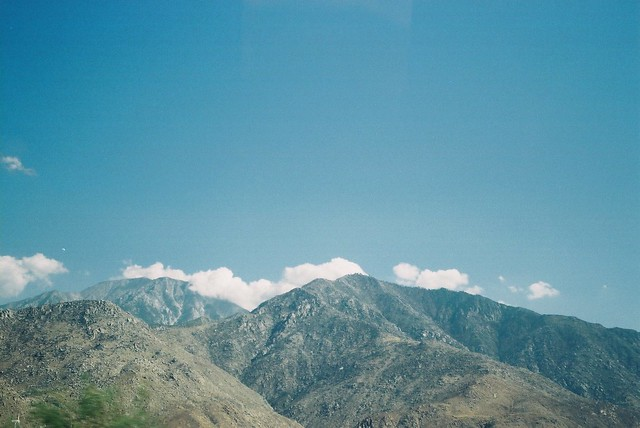 Driving to Joshua Tree