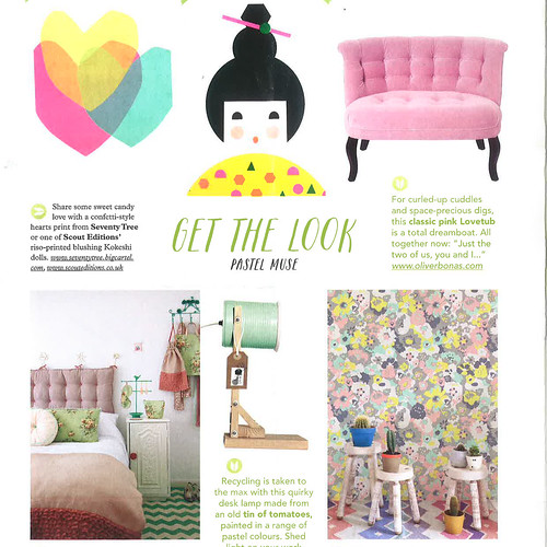 Stylish Home Sewing Mollie Makes March 2015 1