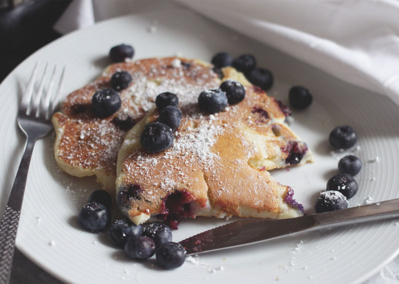 Blueberry Pancake recipe, Bumpkin Betty