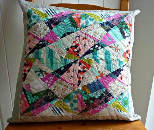 Mixed up and Muddled up cushion