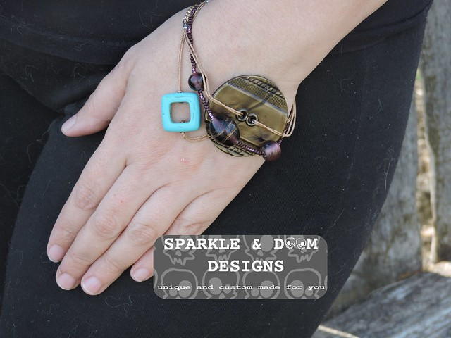Bracelet, stacked 03a