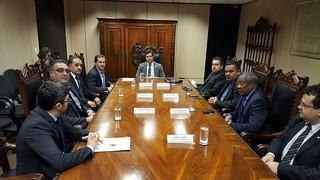 Paulinho se reúne com Quintella para amenizar crise nos portos