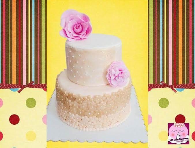 Pretty in Pink Cake by Hazel Raymundo of Kitchen Secrets Cakes & Pastries