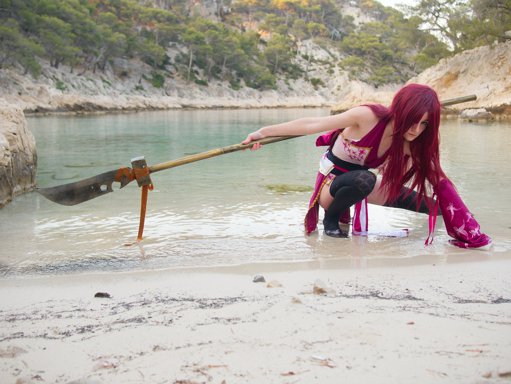 related image - Shooting Erza Scarlet - Fairy Tail - Port Pin -2016-07-02- P1430721