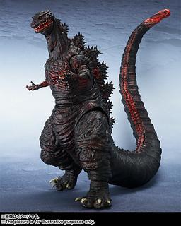 【新增官圖 & 販售資訊!】S.H.MonsterArts 哥吉拉 ゴジラ(2016) 超狂妄霸氣登場!!
