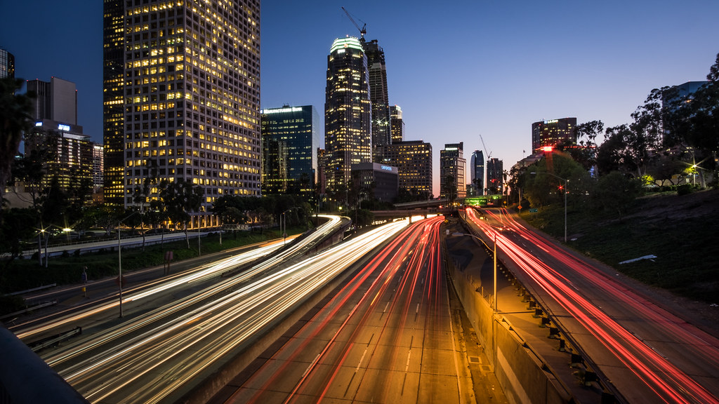 Highway 110, Los Angeles, United States picture