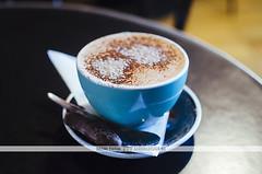 Fidel's Cafe hot chocolate - Wellington, NZ