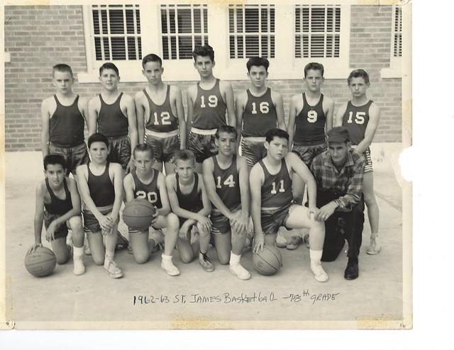 St James basketball 1961