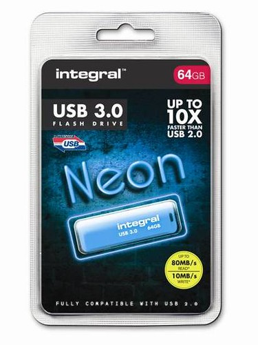 CLE USB INTEGRAL NEON