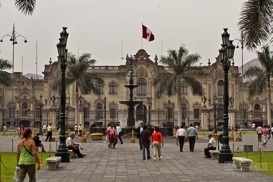 The sites and colours of Lima, Peru.