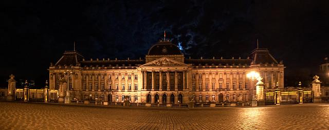 Panorama du Palais Royal de Bruxelles