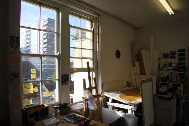my studio / window