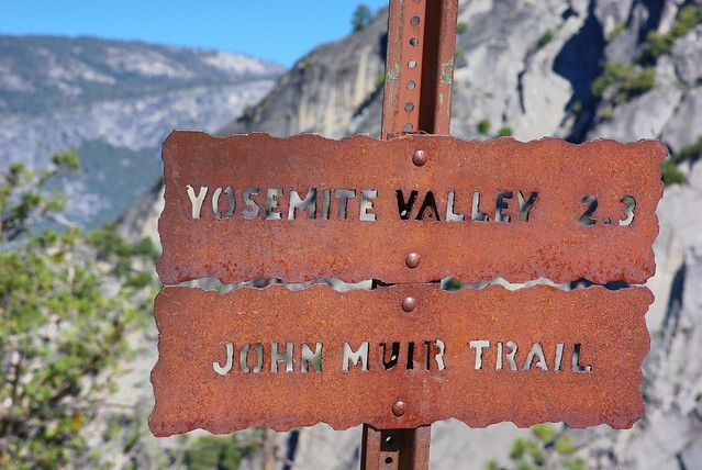 John Muir Trail, Yosemite