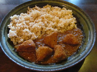 Ashura - Curry with gluten and rice