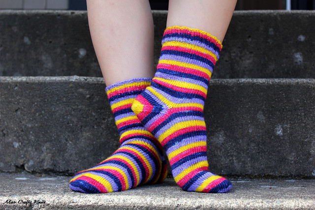 April Showers Socks - Side