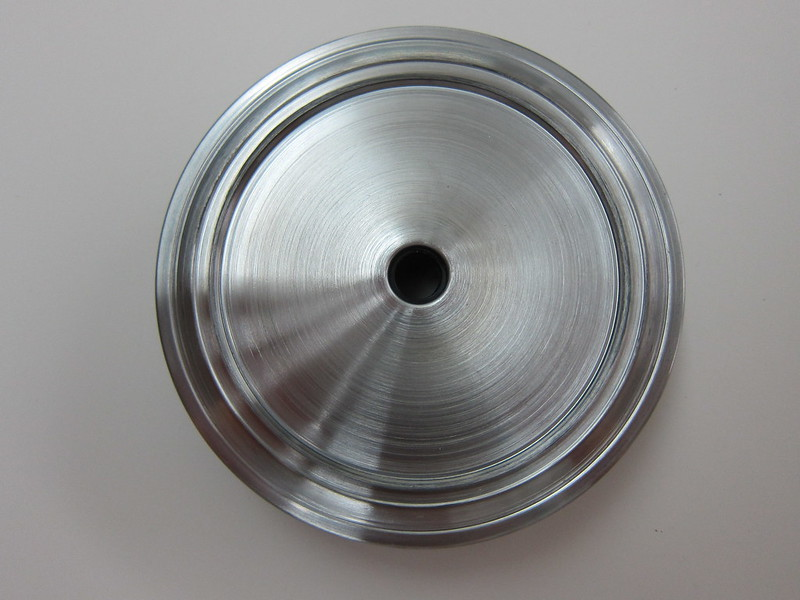 Starbucks Stainless Steel Cold Cup - Lid Top View