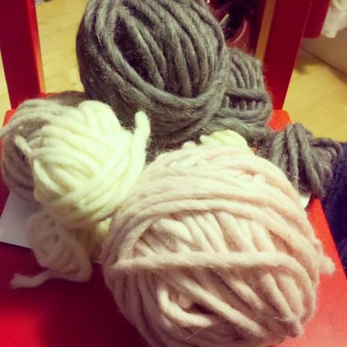 chunky roving yarn