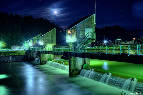 HDR Photo: Dam 'Seki'