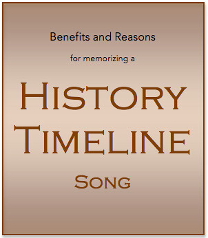 Benefits and Reasons for Memorizing a History Timeline Song