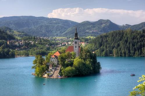 Lago Bled. Slovenia