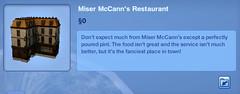 Miser McCans's Restaurant