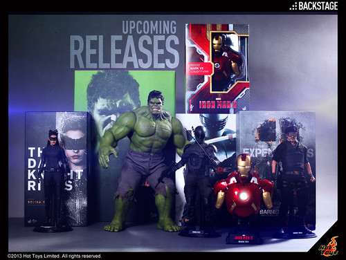 Hot Toys - Upcoming Releases May '13