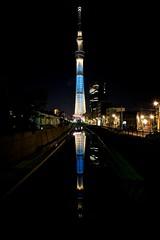 20130428 東京玩第二天 321 sky tree 東京スカイツリー 夜景 十間橋