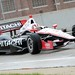 Helio Castroneves on track at Belle Isle