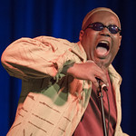 'Cosmic Oscar' (Celebrating the Music of Oscar Brown, Jr.) at Musicians Institute, Sunday, April 14, 2013. Photos reproduced by Bob Barry's kind permission.