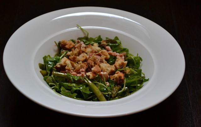 salmone e asparagi
