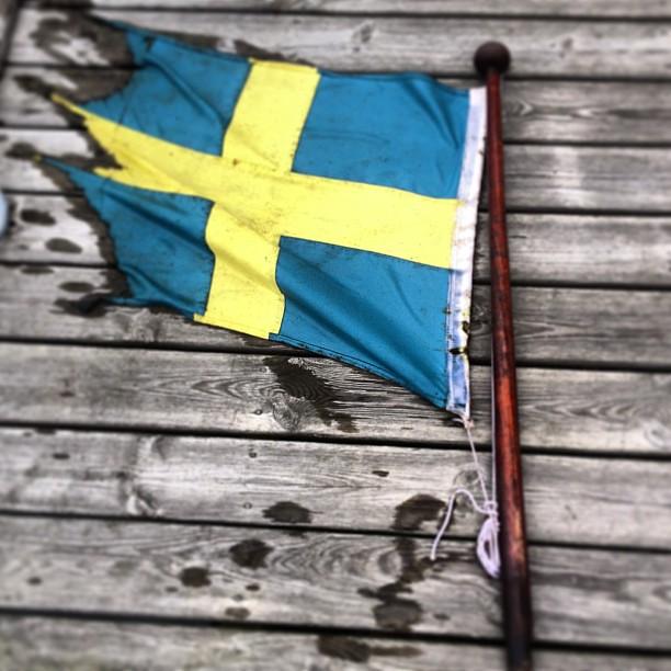 För Sverige ur vattnet.