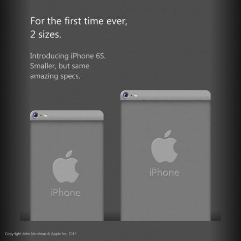 Впервые iPhone 6 и 6S