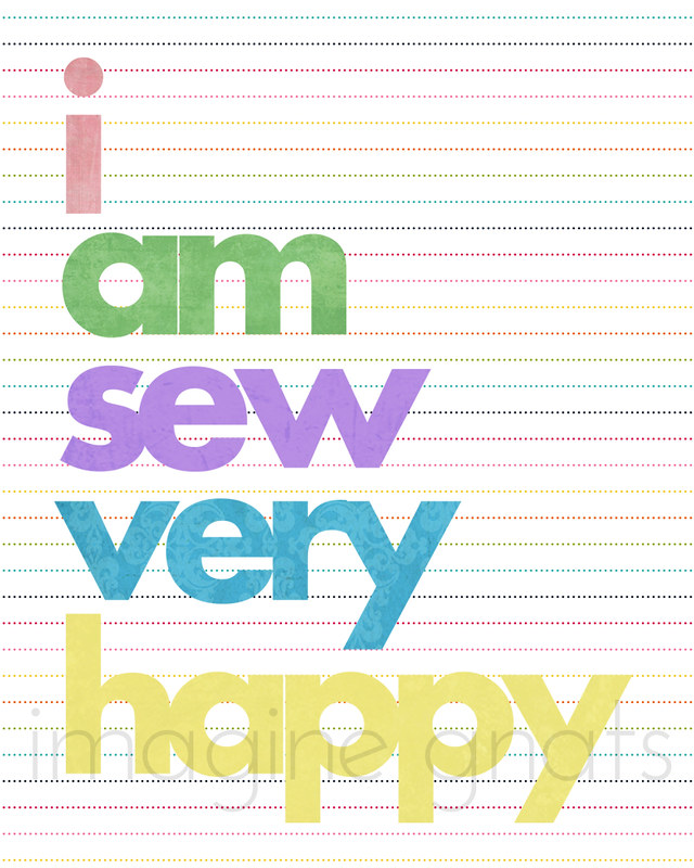 i am sew very happy by imagine gnats