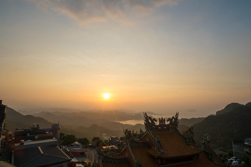 Sunset in Jioufen