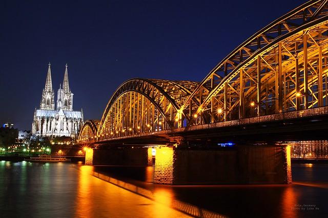 Kölner Dom & Hohenzollernbrücke, Köln, Germany