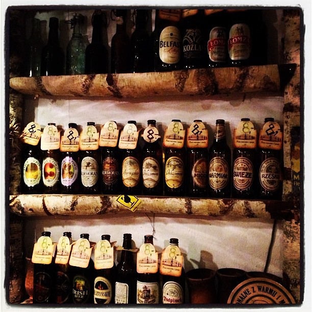 Raj piwosza - 24 rodzaje lokalnego mazurskiego piwa w jednym lokalu!
