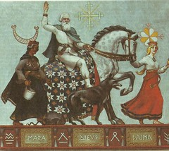 Latvian-mythology